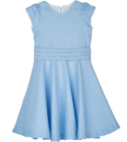 Girl - Dorothy Linen Full Circle Dress