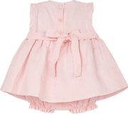 Baby Girl - Camilla 100% Linen Smocked Set