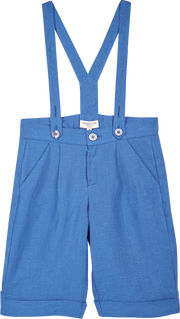 Boy - Philip Linen Shorts With Braces