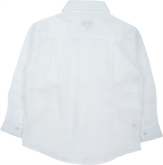 Boy - Ivan Linen Classic Collar Shirt With Pocket