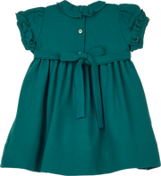 Baby Girl - Stella 100% Wool Smocked Dress