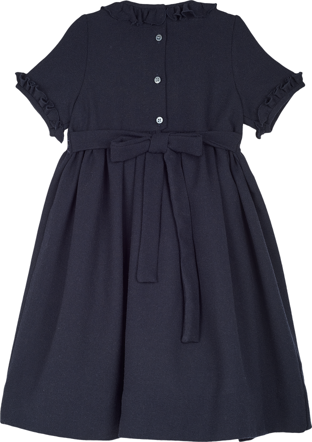 Girl - Aria Wool Smocked Midi Dress