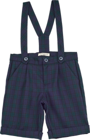 Baby Boy - Noah Wool Shorts With Braces