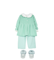 Baby Girl - Mona Cotton Long Sleeve Bodysuit