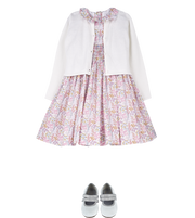 Girl - Lara Cotton Smocked Liberty Dress