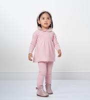 Girl - Cashmere Baby Doll Top With Matching Leggings