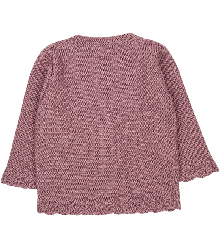 Baby Girl - Palma Royal Alpaca cardigan