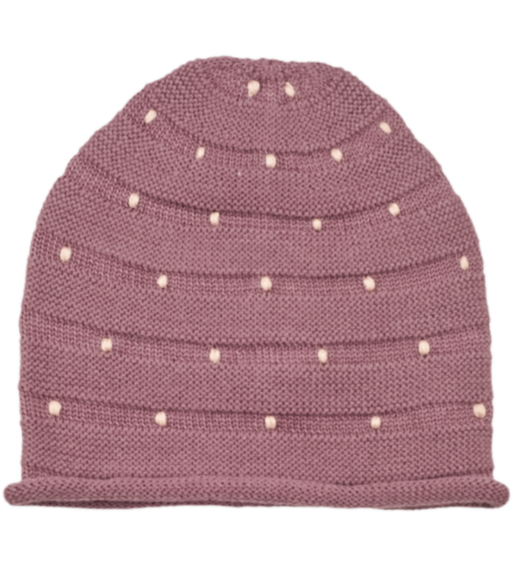 Girl - Zafra 100% Royal Alpaca beanie hat