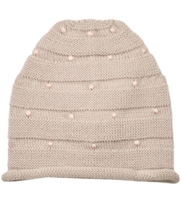 Baby Girl - Zafra Royal Alpaca  beanie hat