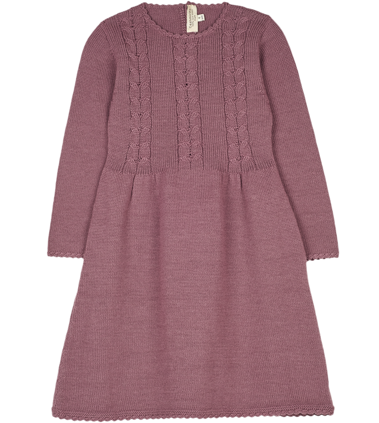 Girl - Nerja 100% Royal Alpaca dress