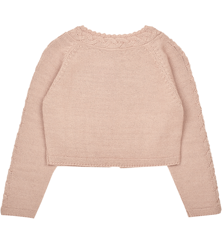 Girl - Cuenca Royal Alpaca cropped cardigan