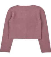 Girl - Denia - Royal Alpaca Cropped Cardigan