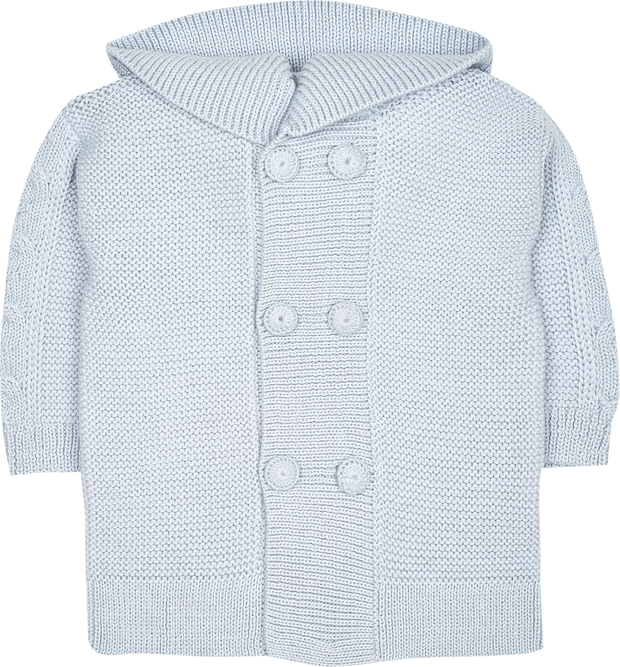 Baby Unisex - Logan Alpaca Double Breasted Coat Cardigan