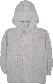 Unisex - Logan Alpaca Double Breasted Coat Cardigan
