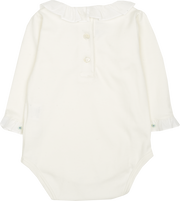 Baby Girl - Margherita 100% Pima Cotton Long Sleeve Bodysuit
