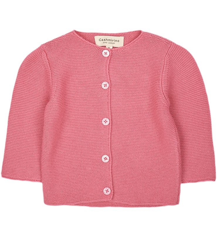 Baby Girl - Sofia Cotton Cardigan
