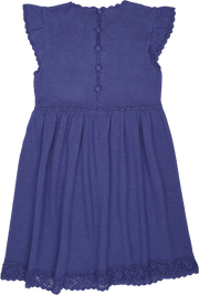 Girl - Adele Cotton Round Neck Dress