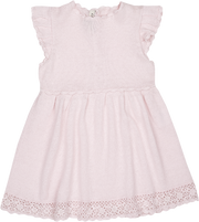 Baby Girl - Adele Cotton Round Neck Dress