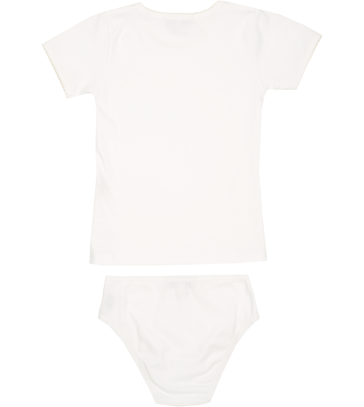 Girl - Marisol Cotton Set - T-shirt and pants