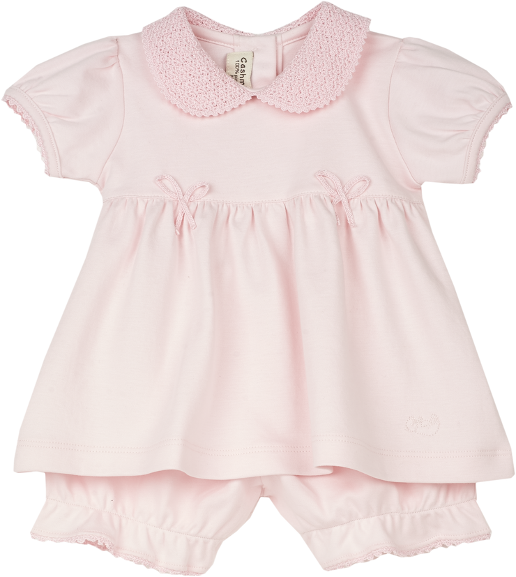 Baby Girl - Linda Pima Cotton Set