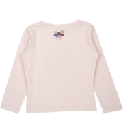 Girl - Spoiled Twins Pima Cotton long sleeves illustrated T-Shirt