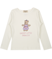 Baby Girl - Princess Sofi Pima Cotton long sleeves illustrated T-Shirt
