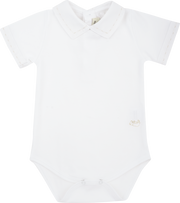Baby Boy - Cotton Short Sleeve Bodysuit