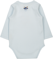 Baby Boy - Spoiled Twins Pima Cotton printed bodysuit