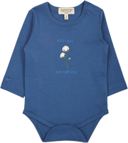 Baby Boy - Stay Cool 100% Pima Cotton long sleeves printed bodysuit