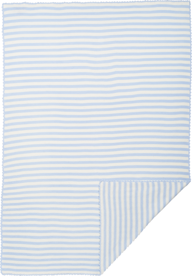 Baby Boy - Mario Cotton Candy Striped Blanket