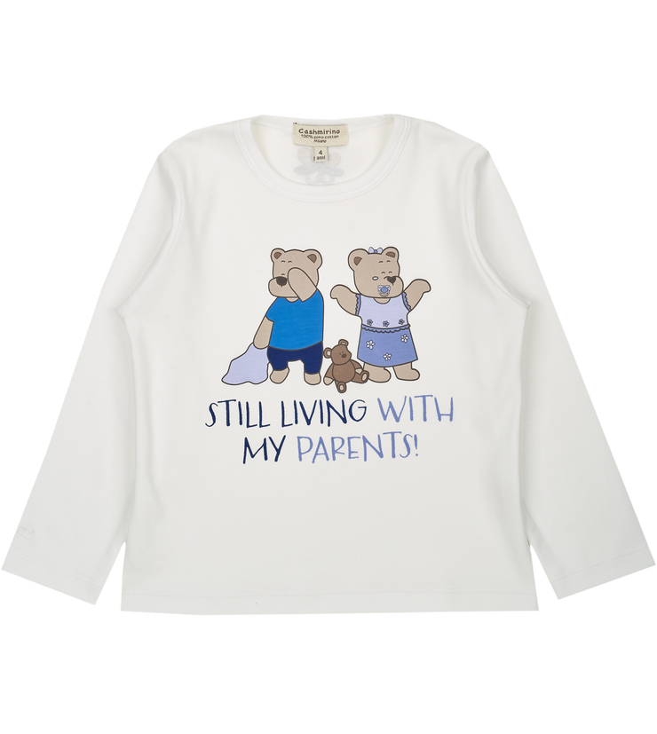 Boy - Spoiled Twins Pima Cotton long sleeves printed T-Shirt
