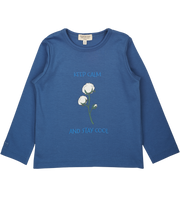 Boy - Stay Cool 100% Pima Cotton long sleeves printed T-Shirt