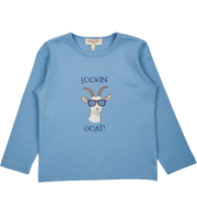 Boy - Lookin' Goat Pima Cotton long sleeves printed T-Shirt