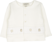 Baby Unisex - Cotton Cardigan With Bear Embroidery