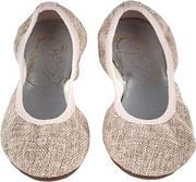 Girl - Canvas Ballerina Shoes With Stretch