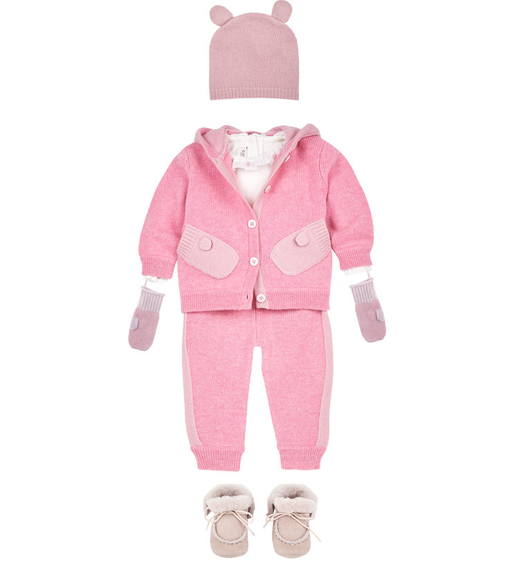 Baby Girl - Eleonora Cashmere Joggers