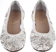 Girl - Sequin And Lace Ballerina Shoes