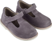 Girl - Suede Mary Jane Shoes With Cut Out Inserts