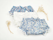 Baby Girl - Arianna 100% Cotton lace detail bloomers