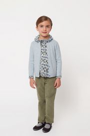 Girl - Cotton Regular Fit Washed Corduroy Jeans