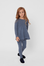 Girl - Victoria 100% Cashmere Top and Pants Set