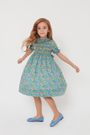 Girl - Lidia 100% Cotton Midi Dress