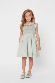 Girl - Lilly 100% Cotton Smocked Dress