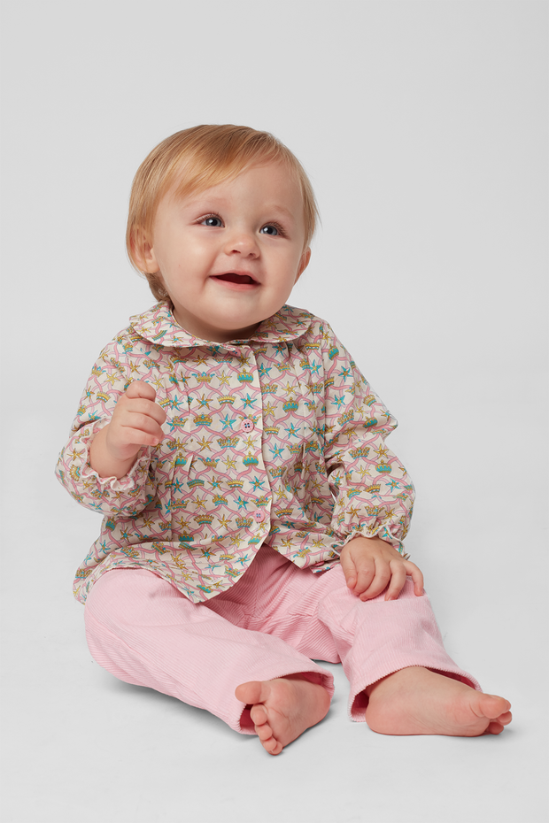 Baby Girl - Emma Cotton Blouse