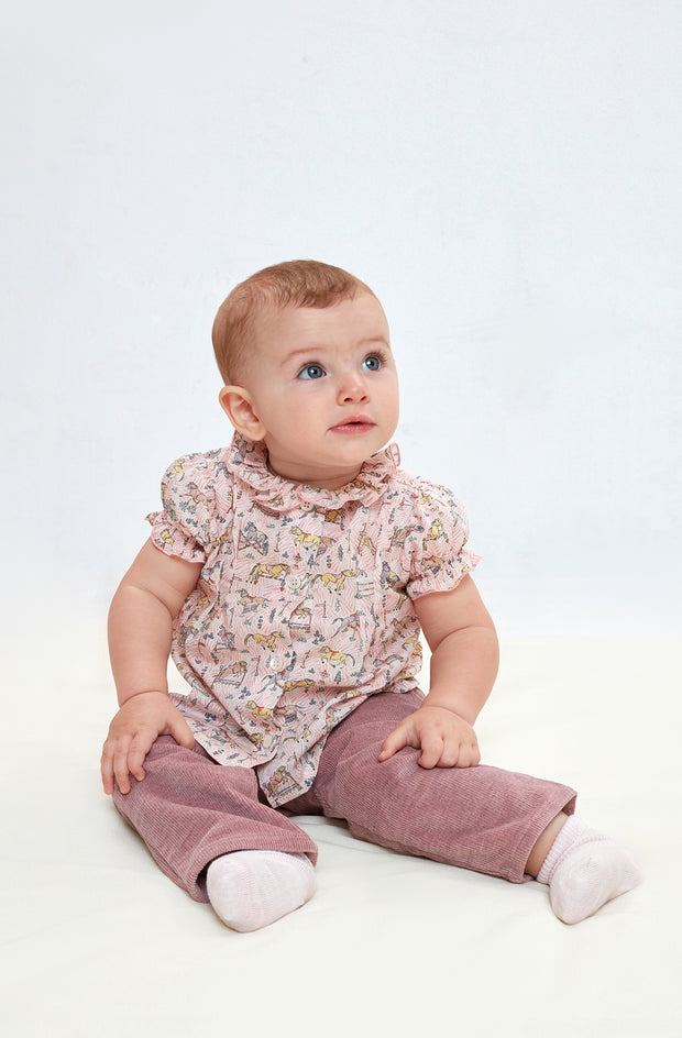 Baby Girl - Trudy Cotton blouse