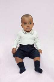 Baby Boy - Cotton Long Sleeve Bodysuit