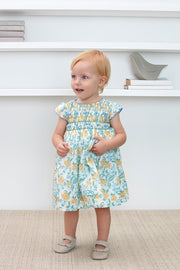 Baby Girl - Sophie 100% Cotton Smocked Dress
