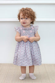 Baby Girl - Violet 100% Cotton liberty dress