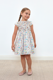 Girl - Louise 100% Cotton Smocked Dress