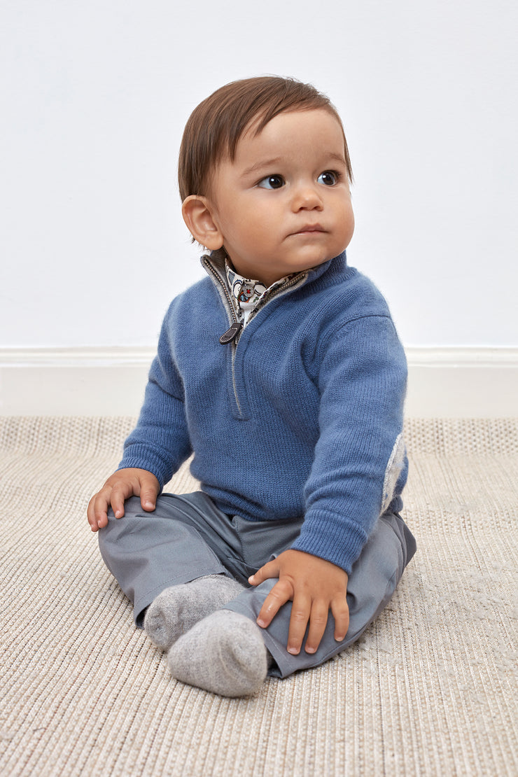 Baby Boy - Sebastian Cashmere High Neck Jumper